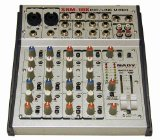Nady SRM-10X 10-CHANNEL Compact Stereo Mic/line Mixer by Nady