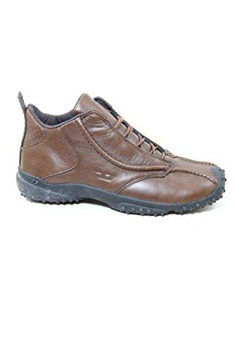 Diesel Leather mid Sneakers O'HI Brown