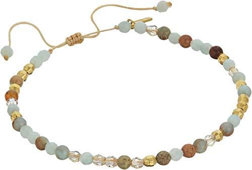 Chan Luu Women's Adjustable Single Bracelet Amazonite Mix One Size ()