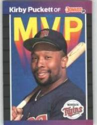 1989 Donruss Bonus MVP's #BC1 Kirby Puckett - Minnesota Twins (Baseball Cards) ()