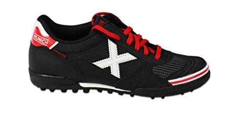 Munich - Zapatillas de fútbol sala, mod. Gresca Genius Turf, en color negro, ref. 3010581 Size: 40