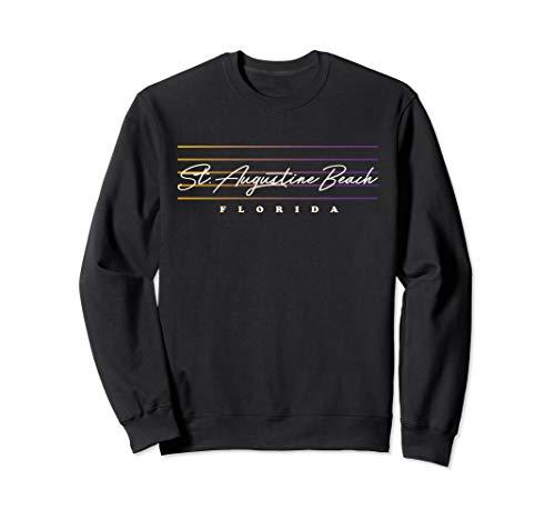 - St. Augustine Sweatshirt Retro Style Florida Shirt