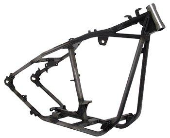 Kraft Tech 20009 Black Bobber Style Rigid Frames For Big Twin