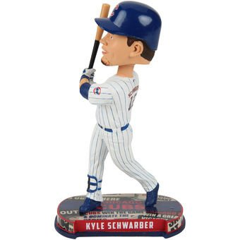 Chicago Cubs Schwarber K. #12 Headline Bobble by FOCO