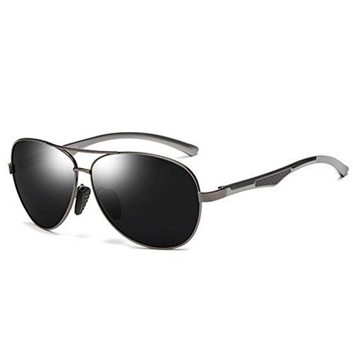 Mirror Espejo conducción Sunglasses Polarizer Driving de Retro hombre polarizadas Gafas Driver de para Piloto Lens Gafas B sol xyaYq4wUBf