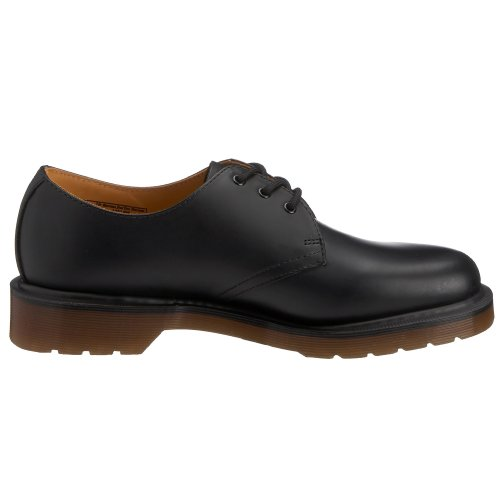 Smooth Unisex Blonder Glatt up Dr Martens Black 1461 1461 Unisex Svart Dr adult Lace up voksen Martens aOw86aqP