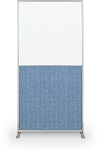Best-Rite 72 x 36 Inch Standard Modular Divider Panel, Markerboard and Blue Fabric, (66223) by Best-Rite (Image #1)