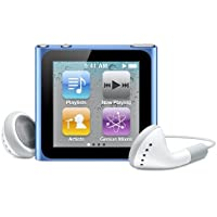 Apple iPod nano 16 GB Blue (6th Generation) OLD MODEL