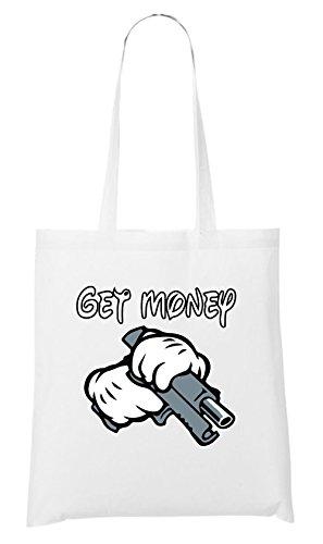 Get Money Bag White Certified Freak