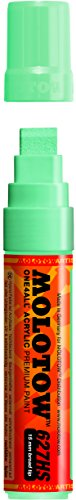 Molotow ONE4ALL Acrylic Paint Marker, 15mm, Lago Blue Pastel, 1 Each (627.215)