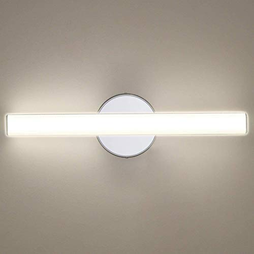 OOWOLF LED Vanity Lights, 12W 17.3in LED Mirror Front Light 4000K 1200LM Bathroom Lighting Fixture Wall Lamp Make-up…