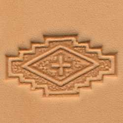 Tandy Leather Craftool 3D Stepped Square Stamp 88489-00