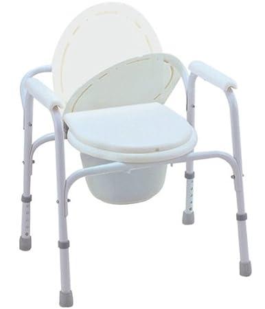 Amazon.com: MedMobile® Bedside Commode/Toilet Seat/Safety Rails ...