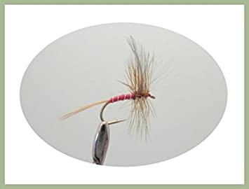 Choice of Size Lunns Particular 6 Per Pack Dry Trout Flies Fishing Flies