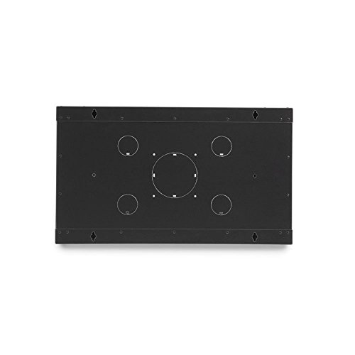 Rackmount Fixed Wall Mount Cabinet, Solid Door, 6U