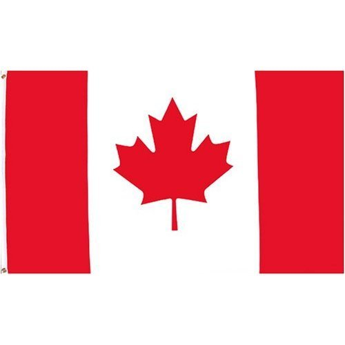 Canadian Flag 3 feet by 5 feet -polyester just $12