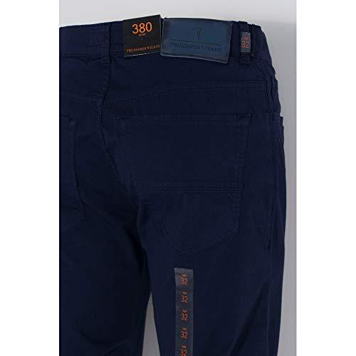 5 380 Colore Trussardi Tasche Blu dyed Pantaloni Jeans 52j000041y091071 Uomo Icon UxU85nX