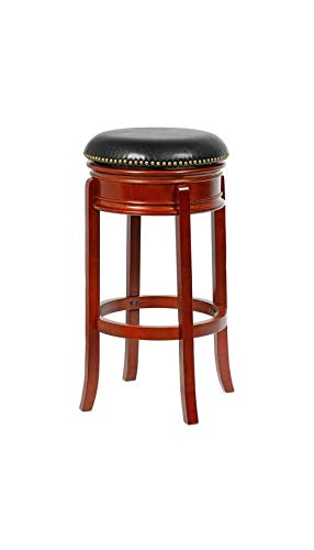 4D Concepts 6882400 Bristol Swivel BI-CAST Leather Counter Stool/Brandy 17.5