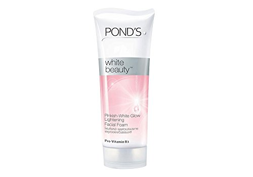 Pinkish White Ligthening Facial Foam - 100 G (Ponds White Beauty Detox)