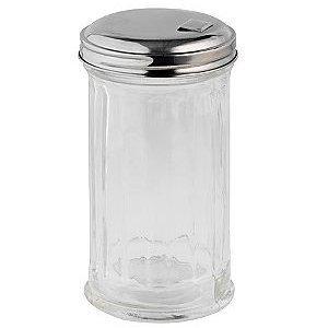 Adcraft PSJ-12SF Sugar Pourer / Shaker, Plastic Base, Side-Flap Top, Case of 3 Dozen by Adcraft