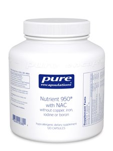 Pure Encapsulations Nutrient 950 with NAC - 120 capsules