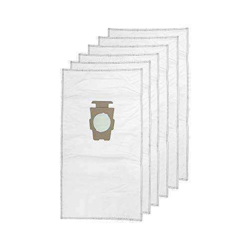 1 Pack (6 Bags) Vacuum Cleaner Dust Bag for Kirby Part 204814 Universal White Cloth Bags fit All Generation & Sentria Models