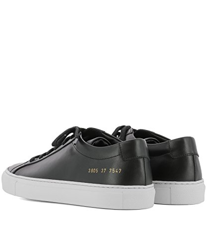 Cuir PROJECTS Noir Baskets 38057547 Femme COMMON 6nUqw84wv