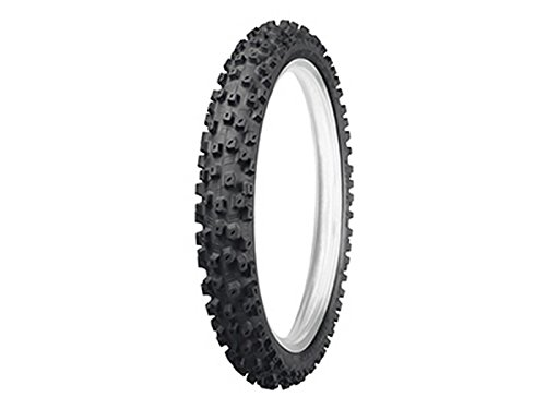 Dunlop Tires Geomax MX52 Intermediate/Hard Front Tire - 60/100-10, Position: Front, Rim Size: 10, Tire Application: Hard, Tire Size: 60/100-10, Tire Type: Offroad, Load Rating: 33, Speed Rating: J
