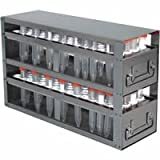 Argos Technologies - Freezer rack with drawer for 15 mL centrifuge tubes. Holds 208 tubes 26 3/4 x 9 15/16 x 5 1/2 ( D x H x W) 1/EA