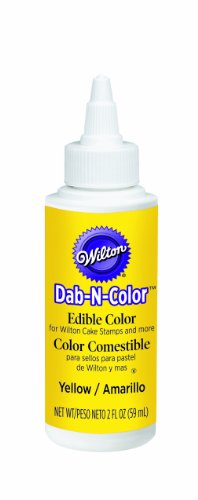 Wilton Yellow Dab-N-Color Edible Color