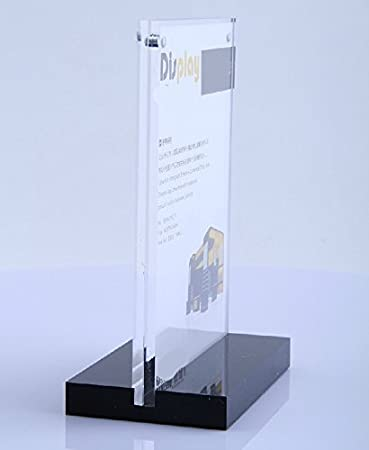 table display stands. 4x6 inches acrylic magnetic sign holder with black base table display stand menu for stands p