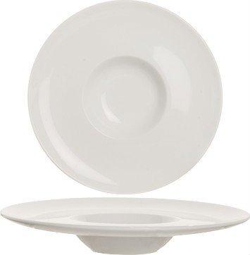 assiette creuse bord large