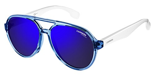 Carrera Kids Carrerino 22/S Sunglasses, Blue/Blue Sky Miror, - Carrera 22 Sunglasses