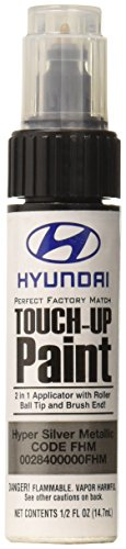 Genuine Hyundai 00284-00000-FHM Touch-Up Paint, HYPER SILVER METALLIC