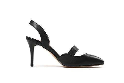 Aimint Compensées Noir Sandales 5 EYR00226 36 Femme Noir EU rwHErqI