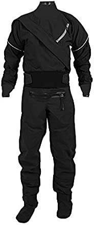3 Layer Nylon Diving Drysuit for Men Waterproof Neoprene Kayaking Equipment Dry Suits