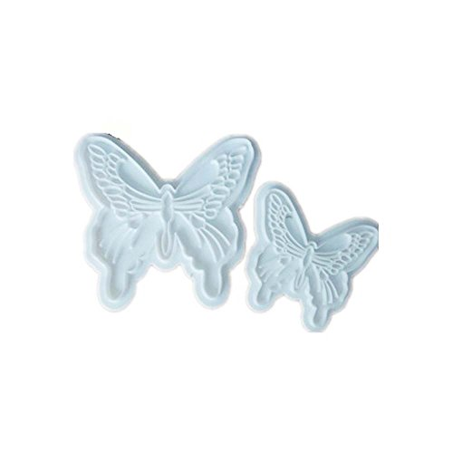 Cheap  ED-Lumos DIY White Butterfly Shaped Path Walk Maker Mold for Garden Paving..