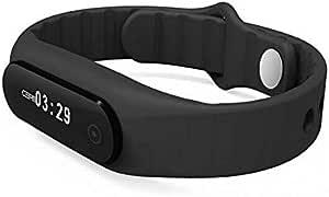 E06 OLED Smart Wristband for Android IOS Black