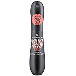 essence | Bye Bye Panda Eyes Tubing Mascara | Smudge-proof, Volumizing definition | Vegan, Paraben Free, Oil Free | Cruelty Free (Pack of 1)