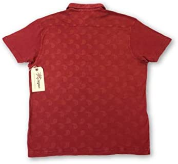 Agave Lux Yin Yang-P Polo Shirt in Red - M: Amazon.es: Ropa y ...