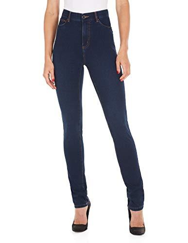 (FDJ French Dressing Women's Suzanne Straight Fit Slim Leg Jeans Indigo )