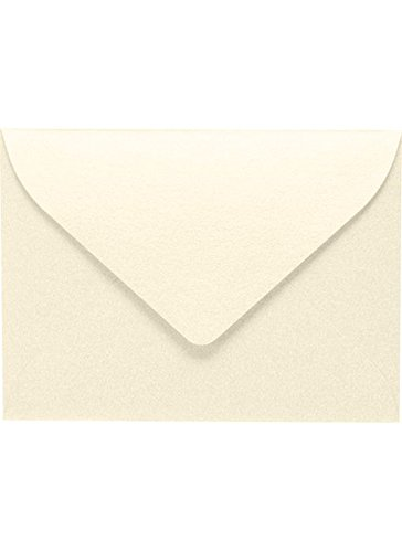 - #17 Mini Envelopes (2 11/16 x 3 11/16) - Champagne Metallic (250 Qty) | Perfect for Wedding, Parties, Event Favors, Place Cards, Holiday Gifts and Year End Gratuity | MINSHC-250