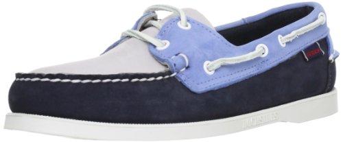 Sebago Spinnaker, Chaussures bateau homme, Bleu (Chlk Blue/Blue), 39.5
