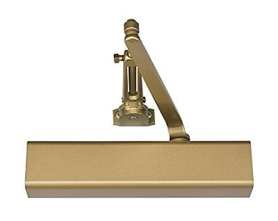 Norton Door Controls 8501H x 696 8500 Series Door Closer, Cast Aluminum Body, Adjustable Size 1-6, Gold Finish