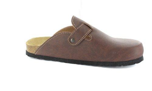 BIOPED - Unisex Clogs - Zürich - Dunkelbraun Schuhe in Übergrößen