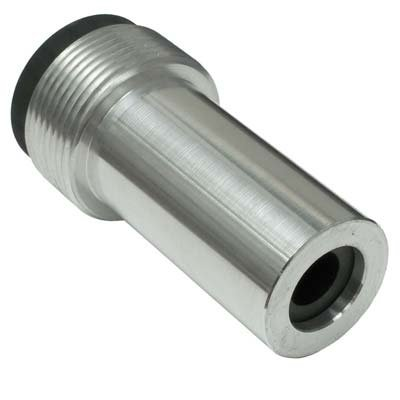 Nozzle, Boron Carbide, Straight Bore, 1/8'' Bore, 3/4'' Entry, Steel Jacket