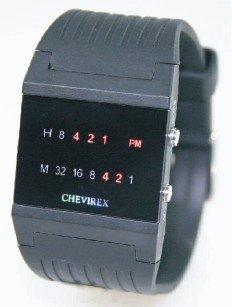 Relojes binarios Chevirex, modelo 2