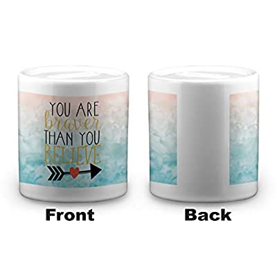 YouCustomizeIt Inspirational Quotes Coin Bank (Personalized): Toys & Games