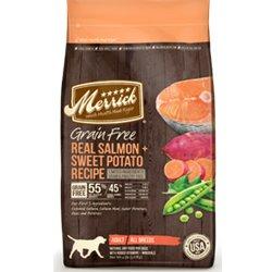 Amazon Merrick Grain Free Salmon and Sweet Potato