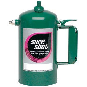 Sure Shot A1000G Sprayer Steel Interior, Green Exterior, 32 oz ()